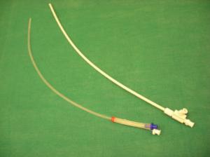 Jet bezw. Laserjet-Katheter - Fa. Acutronic